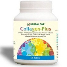 Пищевая добавка Collagen Plus Herbal One 30 tabs.- 100 гр. брутто