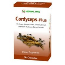 Капсулы Herbal One Cordycepse plus 30 pcs.- 80 гр. брутто