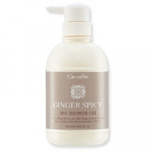 "Гель для душа ""Имбирь"" Giffarine GINGER SPICY SPA SHOWER GEL 500 ml.- 615 гр. брутто"