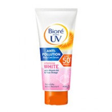 Солнцезащитный серум для тела Biore UV Anti-Pollution Body Care Serum Intensive White SPF50+ PA+++ 50ml.- 200 гр. брутто