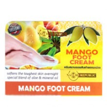 Крем для ног с экстрактом манго Nature repiblic mango foot cream 80 gr.- 140 гр. брутто