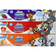 Детская зубная паста Kodomo Lion special toothpaste for Children 40 gr.- 60 гр. брутто