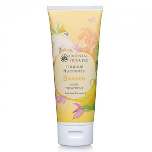 Банановая лечебная маска Oriental Princess Tropical Nutrients Banana Hair Treatment Enriched Formula 200 ml.