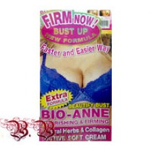 EXTRA FORMULA Beautify Bust BIO-ANNE nourishing & Firming 80g with Natural Herbs & Collagen ACTIVE SOFT CREAM - 240 гр. брутто.